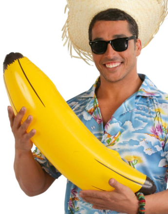 Oppblåsbar Stor Banan 70 cm