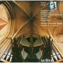 Symphonic Poems in Organ Transcriptions (Deutsch) - Symphonic Poems in Organ Transcriptions (Deutsch) (Audio CD)