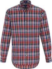 Rutig skjorta vävt mönster från GANT blå