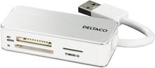 USB 3.0 minneskortläsare, 3 fack