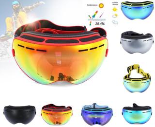 Skidglasögon / skid goggles med anti-fog uv400