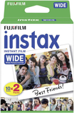 Fujifilm - 20 pack instax wide kamera film 200 / 2