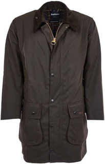 Barbour Classic Northumbria Wax Jacket Herre parkas ufôrede Grønn UK38 / EU48