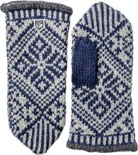 Hestra Nordic Wool Mitt Herre hverdagshansker Blå 9
