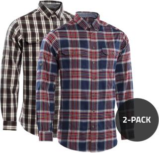 Urberg 2-pack Shirts Herre langermede skjorter