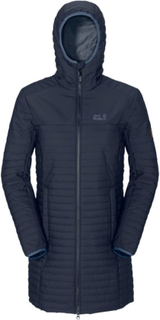 Jack Wolfskin Clarenville Woman Dame synthetic-lined parkas Blå XS