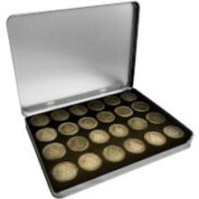 Star Wars Sammelmünzen Edition Set (24 Münzen) - Zavvi Exklusiv (Limitiert auf 500 Exemplare)
