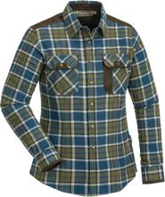 Pinewood Women's Prestwick Exclusive Shirt Dam Skjorta Blå XS