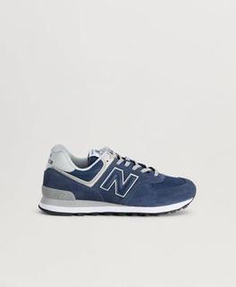 New Balance Sneakers 574 Classic Blå