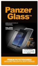 Samsung Galaxy S8 Plus - Black w/ Clear EdgeGrip (Premium Glass)