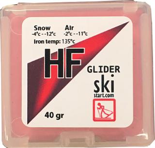 Skistart HF Glider 3 pack, gul, röd, blå