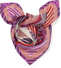 Nicki-Tuch aus 100% Seide Roeckl lila