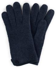 Handschuh aus gewalkter Schurwolle Roeckl blau