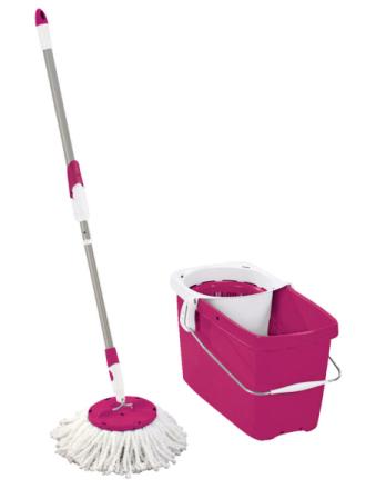 Leifheit Clean Twist-vaskesett Leifheit rød