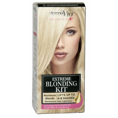 DermaV10 Extreme Blonding Kit Maximum Blonde 1 kpl