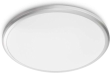 Twirly 27K ceiling lamp grey 1x17W 240V Plafondi
