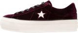 Converse ONE STAR PLATFORM OX VELVET Sneakers dark