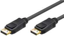 DisplayPort Cable v1.2 - Black - 1m