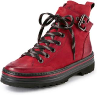 Snørestøvletter Fra Paul Green rød