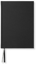 Anteckningsbok A5, 128 linjerade sidor, svart, 21,5X15,5