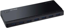 UH700 USB hub - 7 porttia - USB 3.0 - Musta