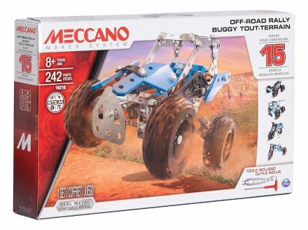 Meccano - Off-Road Rally 15 model Set