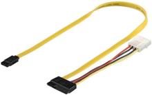 SATA Cable & Power - 0.50m