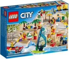 City 60153 Figurpaket – Kul på stranden