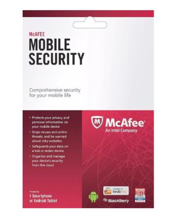 McAfee Mobile Security - 1 enhet / 1 år