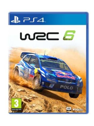 WRC 6: World Rally Championship - Sony PlayStation 4 - Racing