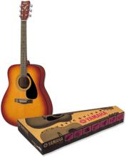 Westerngitarr paket Yamaha F310 TPBS 4/4 Tabacco-Sunburst inkl. väska
