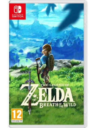The Legend Of Zelda: Breath Of The Wild - Switch - RPG