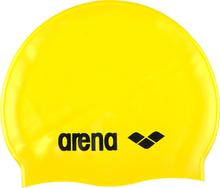 arena Classic Silicone Badehette yellow/black 2019 Badehetter