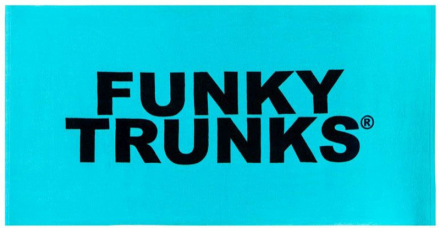 Funky Trunks Towel Pyyhe , turkoosi 2019 Matkapyyhkeet