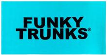 Funky Trunks Towel, still lagoon 2019 Matkapyyhkeet