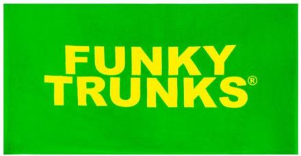 Funky Trunks Towel Pyyhe , vihreä 2019 Matkapyyhkeet