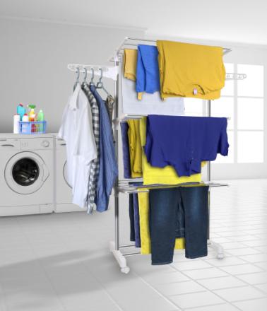 Hyfive tøj tørrestativ tørring Rack ekstra store 3 lags tøj tørring...