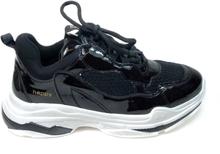 Happy Shoes Posh Chunky Sneakers lack, svart