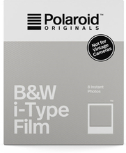 Polaroid Originals B&W Film For I-Type, Polaroid Originals