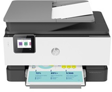 HP Officejet Pro 9010 All-in-One - multifunktionsprinter - farve