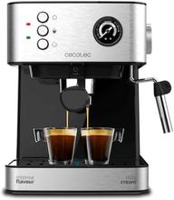 Hurtig manuel kaffemaskine Cecotec Power Espresso 20 Professionale 1,5 L Sølvfarvet Sort