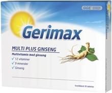 Gerimax 30 tablettia