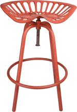Esschert Design Barpall Tractor röd IH024
