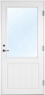 Altandörr med klarglas - Bröstningshöjd 800 mm 9x20 Högerhängd