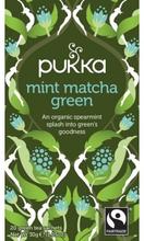 Pukka Mint Matcha Green Tea Øko 20 breve