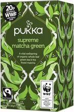 Pukka Supreme Matcha Green Tea Luomu 20 pussia
