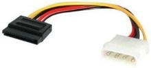 LP4 till SATA strömkabel Adapter - Strömkabel