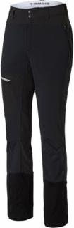 Ziener - Narek men's soft shell pants (black) - 48