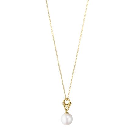 Magic Halsband 18K Guld med Pärla och Diamanter