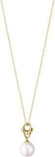 Georg Jensen Magic Halsband 18K Guld med Pärla och Diamanter